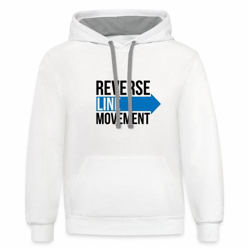Reverse Line Movement - Unisex Contrast Hoodie