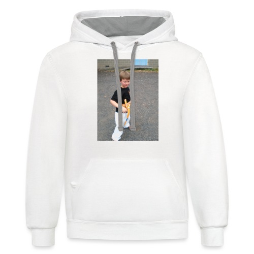 karate T-shirt - Contrast Hoodie