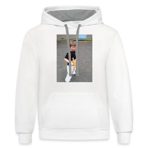 karate T-shirt - Unisex Contrast Hoodie