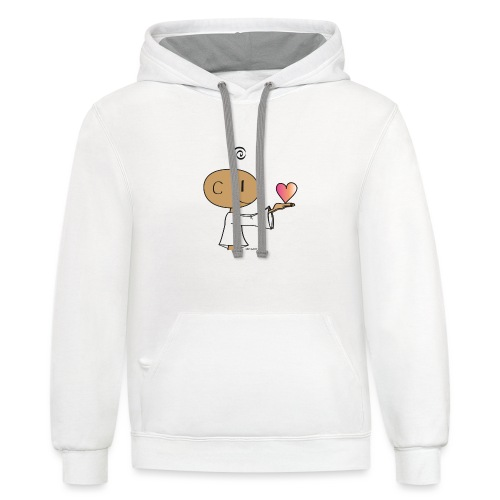 The little Yogi - Contrast Hoodie