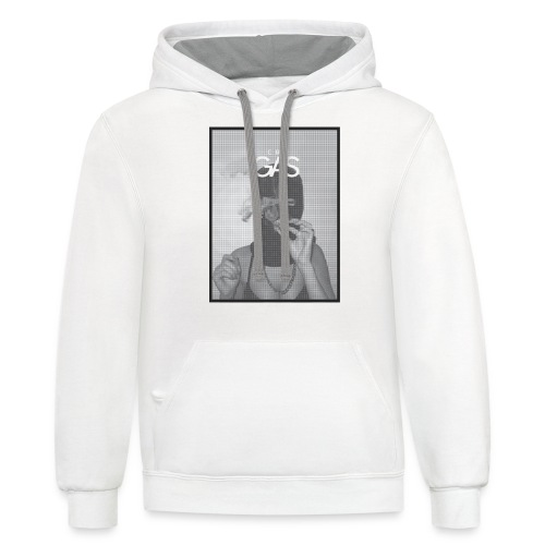 Smokin' on Gas - Contrast Hoodie