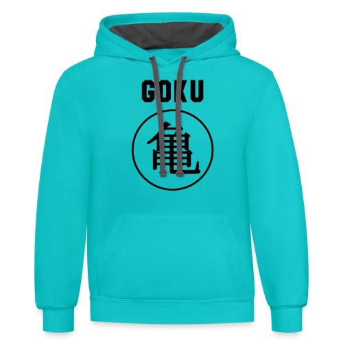 GOKU - TURTLE - Contrast Hoodie