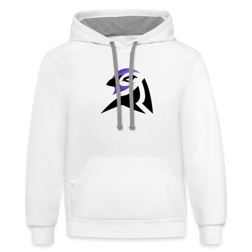 Corvidity Logo Only - Contrast Hoodie