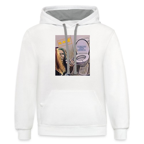 Toilet bowel sessions - Contrast Hoodie