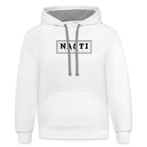 Nasti Apparel - Contrast Hoodie