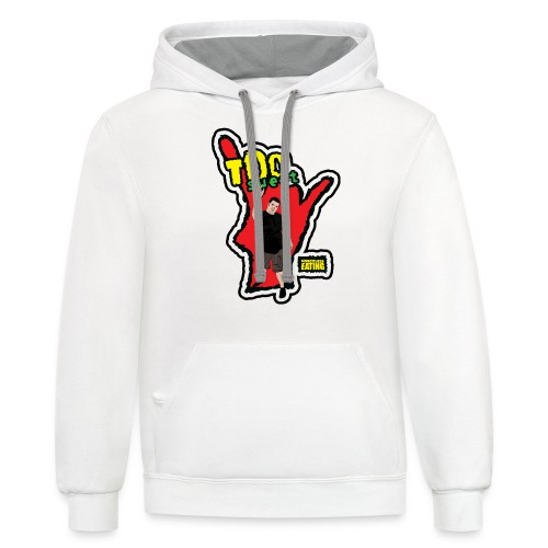 Wreckless Eating Too Sweet Shirt (Women's) - Contrast Hoodie