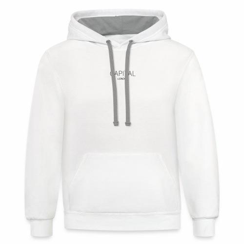 Captial Brand - Unisex Contrast Hoodie