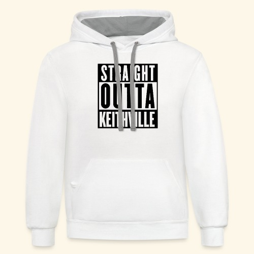 STRAIGHT OUTTA KEITHVILLE - Contrast Hoodie