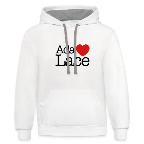 Ada Lovelace - Unisex Contrast Hoodie