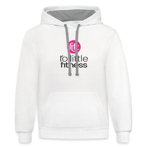 Ro Little Fitness - Contrast Hoodie