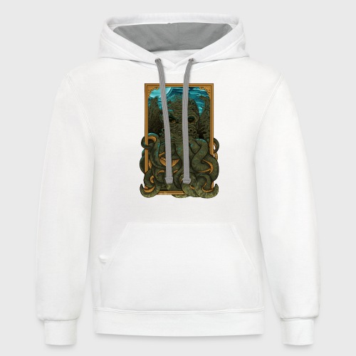 AnswerThe Call of Cthulhu - Unisex Contrast Hoodie