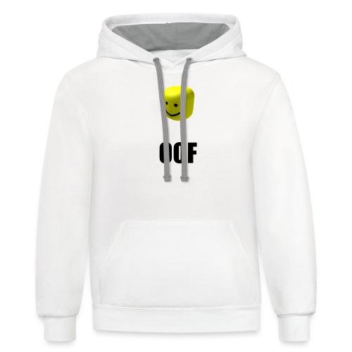 OOF - Contrast Hoodie