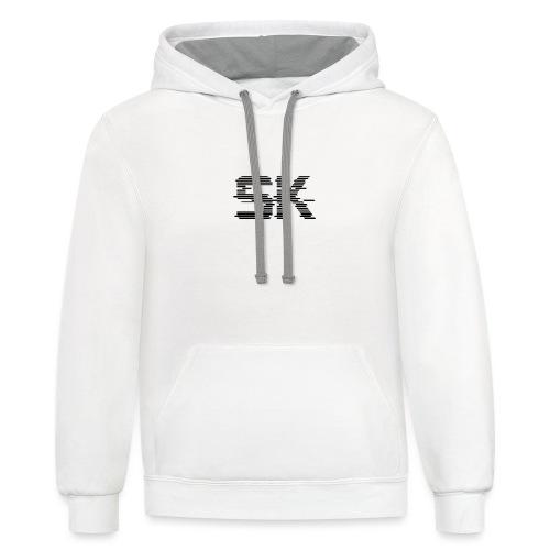sk logo - Contrast Hoodie