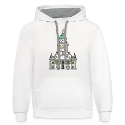 French Cathedral Berlin - Contrast Hoodie