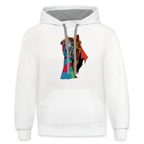 anjelicaPRO png - Contrast Hoodie