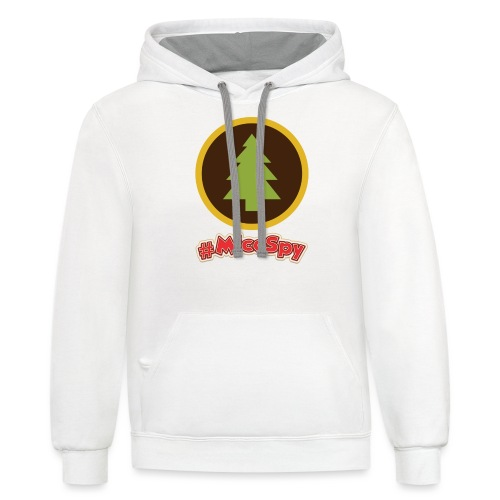 Redwood Creek Explorer Badge - Contrast Hoodie