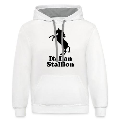 Italian Stallion - Contrast Hoodie