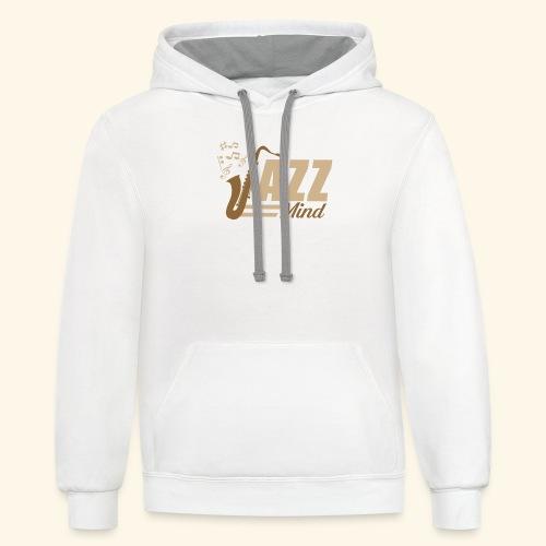 02 JAZZ MIND - Contrast Hoodie