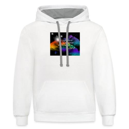 Rainbow - Contrast Hoodie