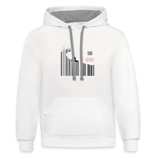 Think Different - Contrast Hoodie