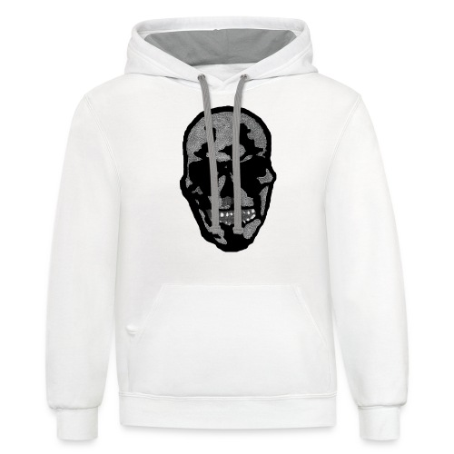 The Laughing Dead - Unisex Contrast Hoodie
