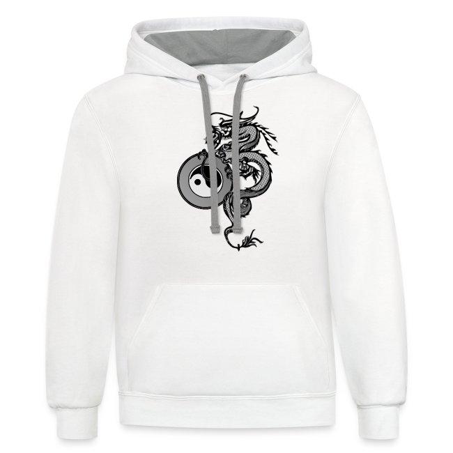 dragon with yin yang