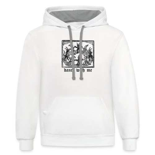 Dance With Me - Contrast Hoodie
