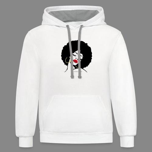Afro Diva - Contrast Hoodie
