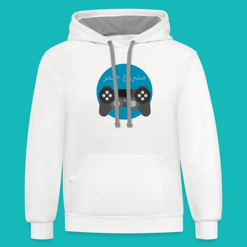 Mashrou3 Gamer Logo Products - Contrast Hoodie