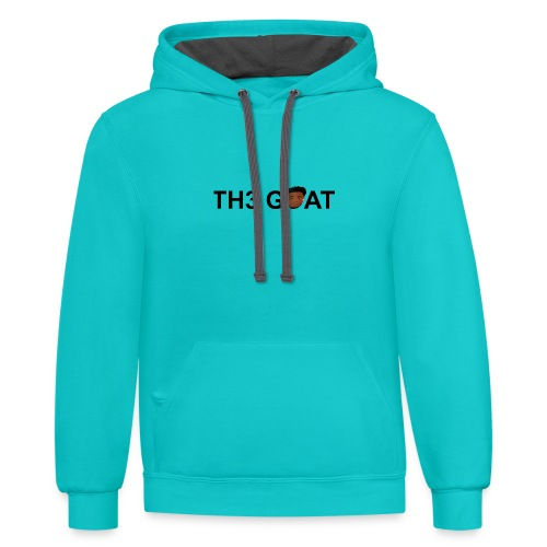 The goat cartoon - Contrast Hoodie