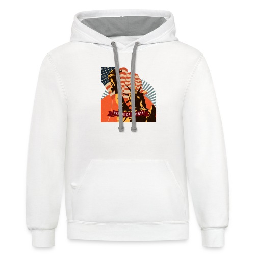 Statue of Liberty - Contrast Hoodie