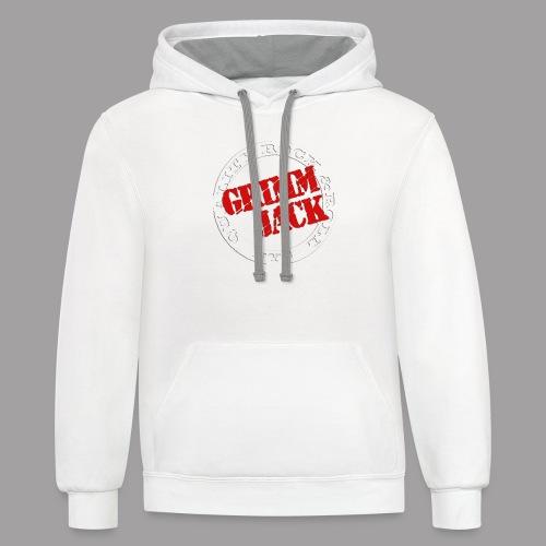 Grimm Jack 2 color - Contrast Hoodie