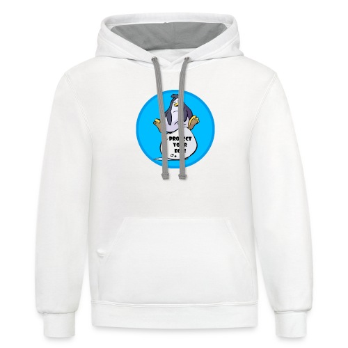 Official Linus Appalling | Protect Your Egg - Contrast Hoodie