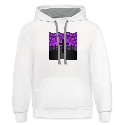Good Friday (Easter) - Contrast Hoodie