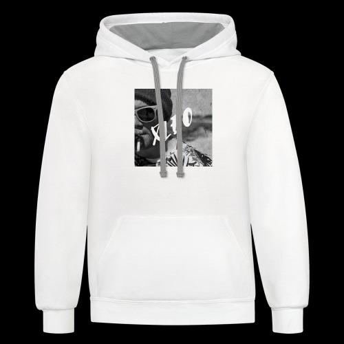 Xleo - Contrast Hoodie