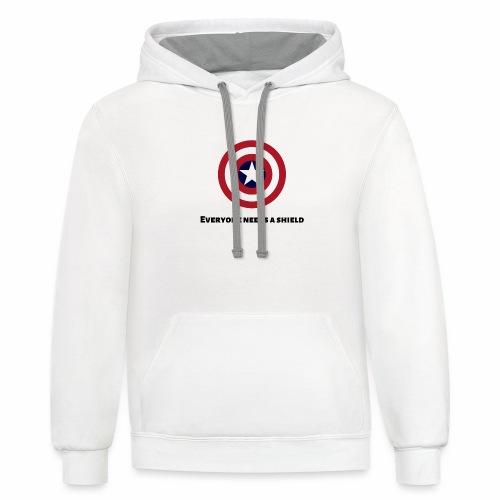 Captain America - Contrast Hoodie