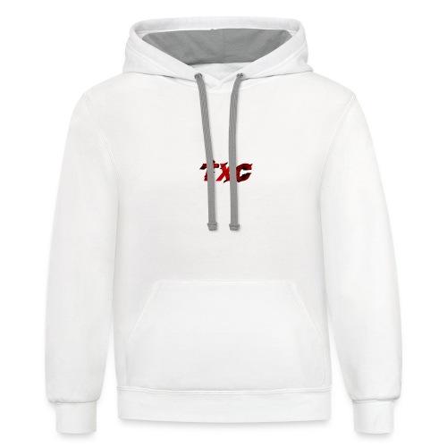 TXC Clan Shirt Made by TXCDEFAULTIO - Unisex Contrast Hoodie