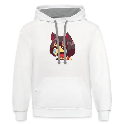 Kitty Kry - Unisex Contrast Hoodie
