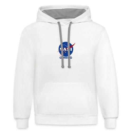 NASA Nasi goreng - Contrast Hoodie