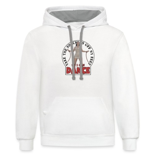 Take the shackles off my feet so I can dance - Unisex Contrast Hoodie