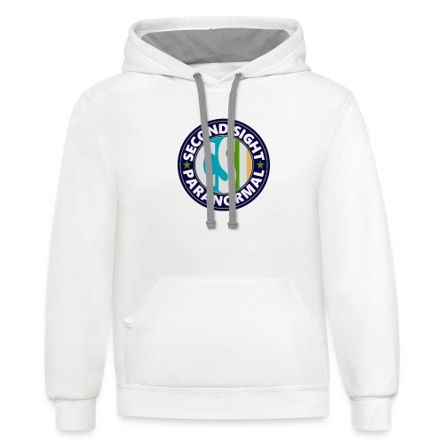 Second Sight Paranormal TV Fan - Unisex Contrast Hoodie