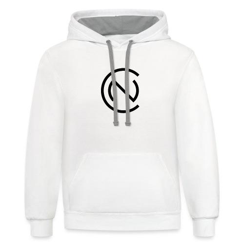 TNC Logo - Unisex Contrast Hoodie