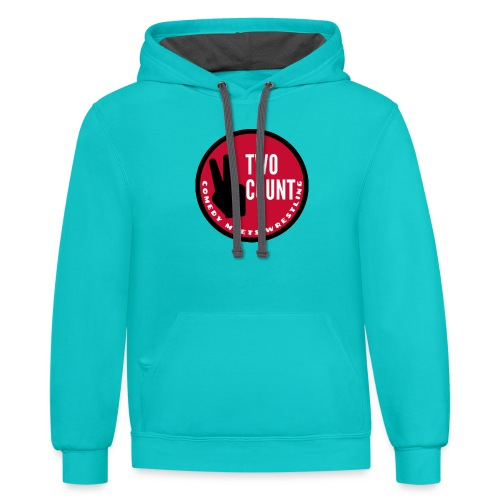 The Two Count Show Shirt - Unisex Contrast Hoodie