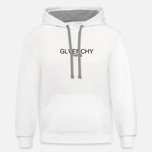 تي شرت glvenchy - Unisex Contrast Hoodie