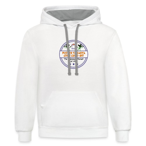 The Passionate Pursuit of Chili - Unisex Contrast Hoodie