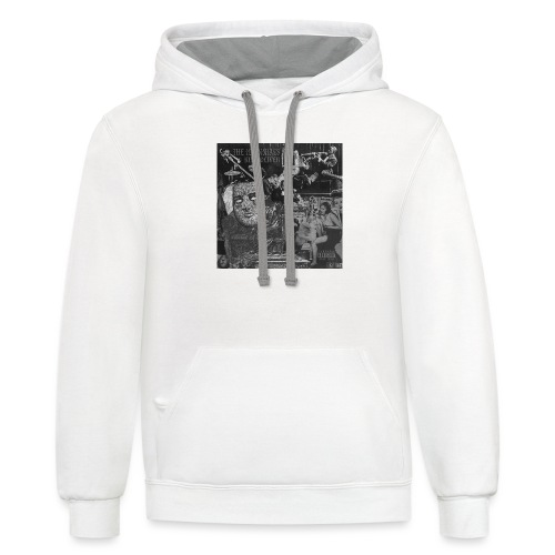 THE ILLennials King Oliver Cover Art - Unisex Contrast Hoodie