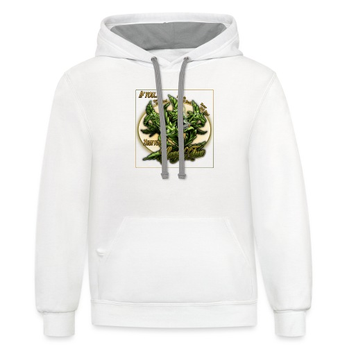 See No Bud by RollinLow - Contrast Hoodie