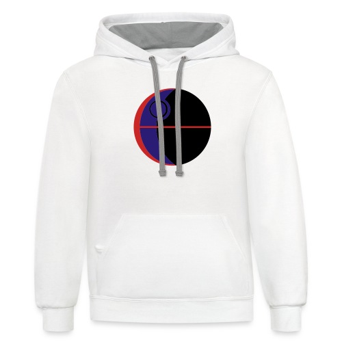 This Is Not A Moon - Contrast Hoodie