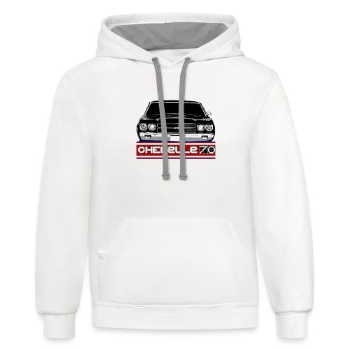 USA CHEVELLE - Unisex Contrast Hoodie