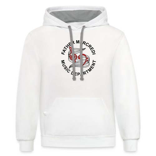 Father Mercredi Music Department - Contrast Hoodie